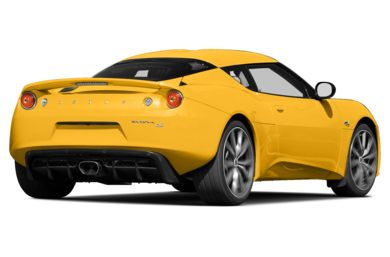 3/4 Rear Glamour  2013 Lotus Evora