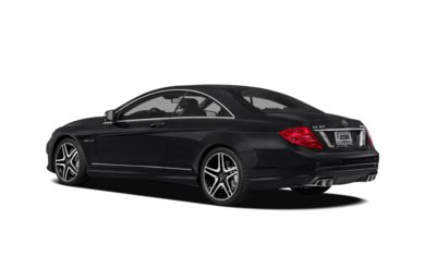 Surround 3/4 Rear - Drivers Side  2013 Mercedes-Benz CL63 AMG