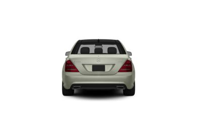 Surround Rear Profile 2013 Mercedes-Benz S400 Hybrid