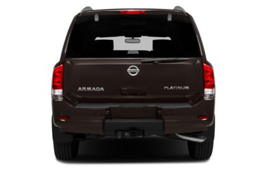 Rear Profile  2015 Nissan Armada