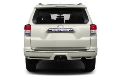 Rear Profile  2013 Toyota 4Runner