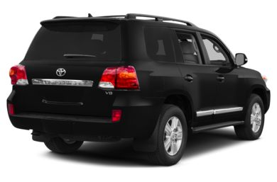 3/4 Rear Glamour  2013 Toyota Land Cruiser