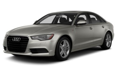 3/4 Front Glamour 2014 Audi A6