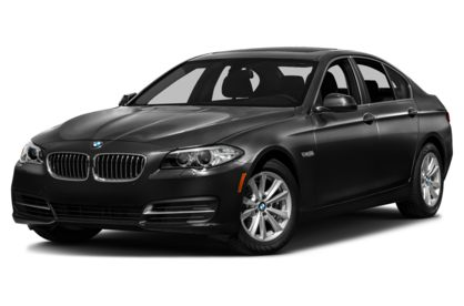 3/4 Front Glamour 2016 BMW 528