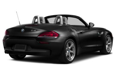 3/4 Rear Glamour  2015 BMW Z4