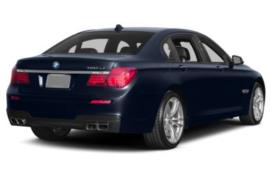 3/4 Rear Glamour  2014 BMW 760