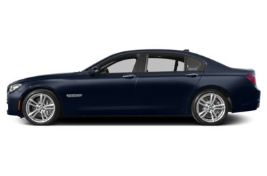 90 Degree Profile 2014 BMW 760