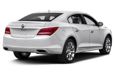 3/4 Rear Glamour  2014 Buick LaCrosse