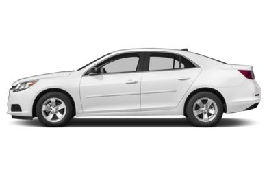 90 Degree Profile 2014 Chevrolet Malibu
