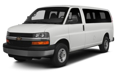3/4 Front Glamour 2014 Chevrolet Express 1500