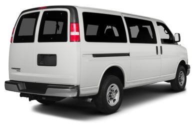 3/4 Rear Glamour  2014 Chevrolet Express 1500
