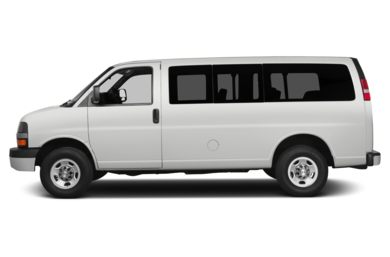 90 Degree Profile 2014 Chevrolet Express 1500