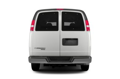 Rear Profile  2014 Chevrolet Express 1500