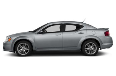 90 Degree Profile 2014 Dodge Avenger