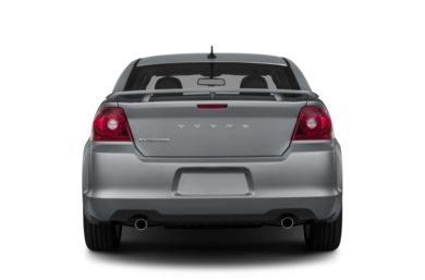 Rear Profile  2014 Dodge Avenger
