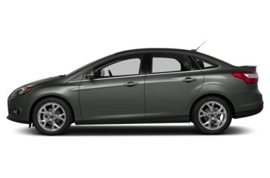 90 Degree Profile 2014 Ford Focus