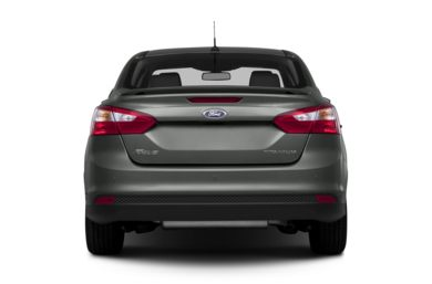 Rear Profile  2014 Ford Focus