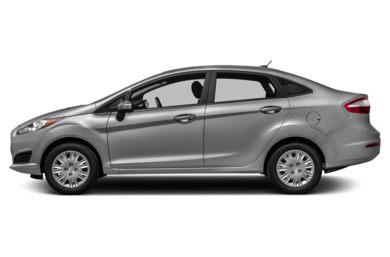 90 Degree Profile 2014 Ford Fiesta