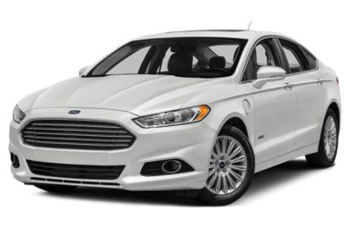 3 4 Front Glamour 2017 Ford Fusion Energi