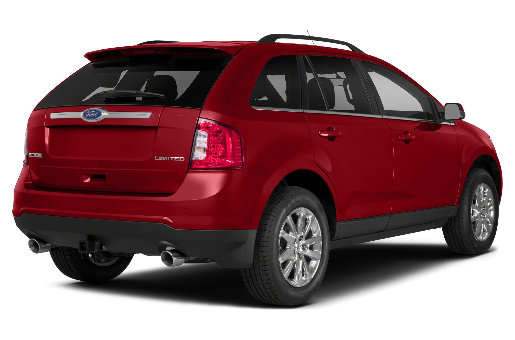 Rear Glamour  Ford Edge