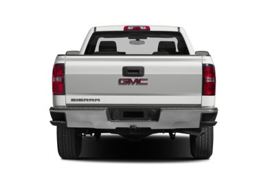 Rear Profile  2015 GMC Sierra 1500
