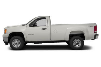 90 Degree Profile 2014 GMC Sierra 3500HD