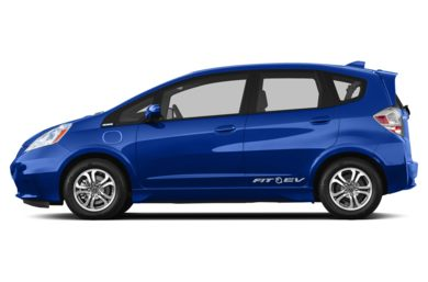 90 Degree Profile 2014 Honda Fit EV