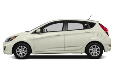 90 Degree Profile 2014 Hyundai Accent