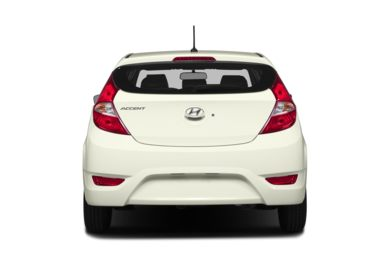 Rear Profile  2014 Hyundai Accent