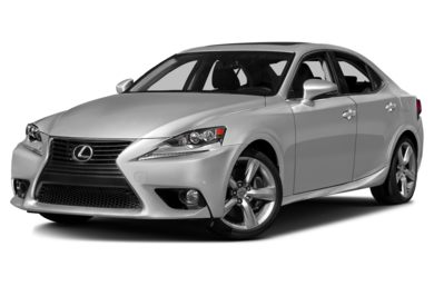 3/4 Front Glamour 2016 Lexus IS 350