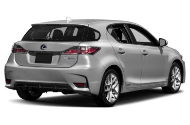 3/4 Rear Glamour  2015 Lexus CT 200h