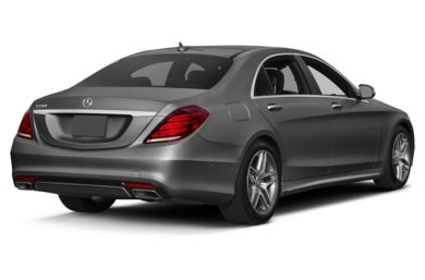 3/4 Rear Glamour  2014 Mercedes-Benz S550