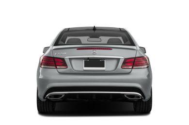 Rear Profile 2017 Mercedes Benz E550