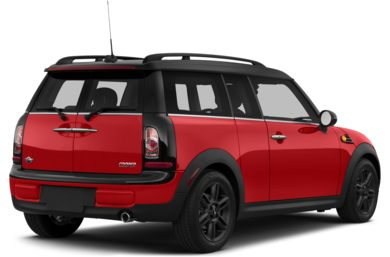 3/4 Rear Glamour  2014 MINI Clubman