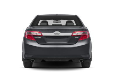 Rear Profile  2014 Toyota Camry