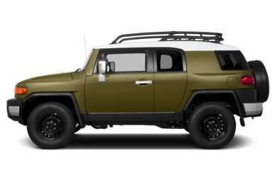 90 Degree Profile 2014 Toyota FJ Cruiser