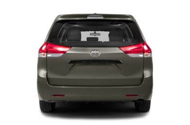 Rear Profile  2014 Toyota Sienna