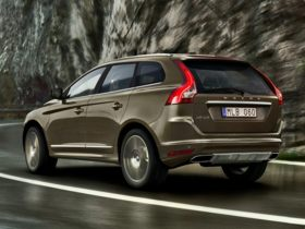 Volvo XC60 Rear Quarter