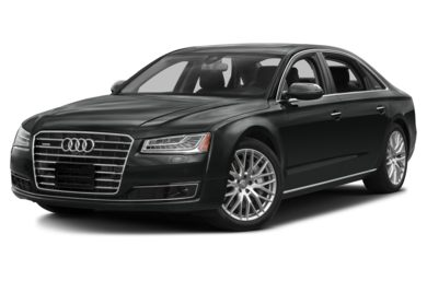 3/4 Front Glamour 2016 Audi A8