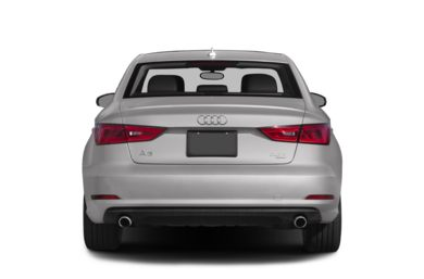 Rear Profile  2015 Audi A3