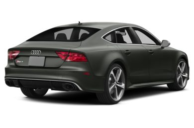 3/4 Rear Glamour  2015 Audi RS 7
