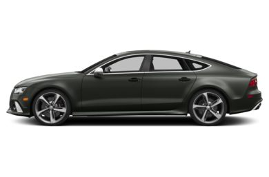 90 Degree Profile 2015 Audi RS 7