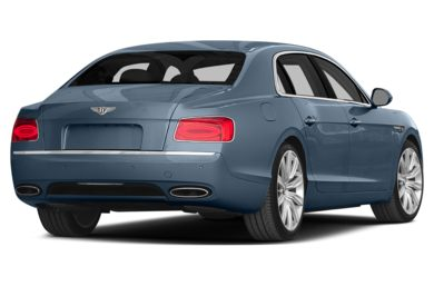 3/4 Rear Glamour  2015 Bentley Flying Spur