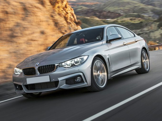 BMW 428 Gran Coupe Front Quarter