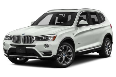 3 4 Front Glamour 2016 BMW X3