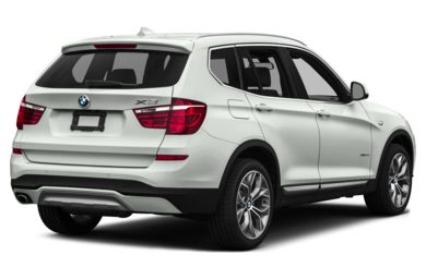 3/4 Rear Glamour  2016 BMW X3