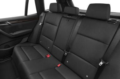 Rear Interior Volume 2017 BMW X3
