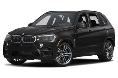 3/4 Front Glamour 2015 BMW X5 M