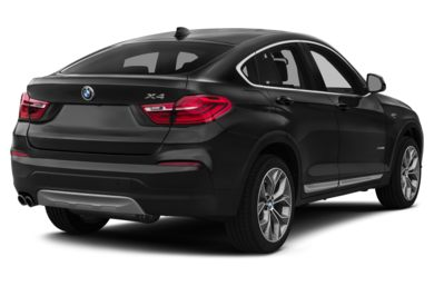 3/4 Rear Glamour  2015 BMW X4