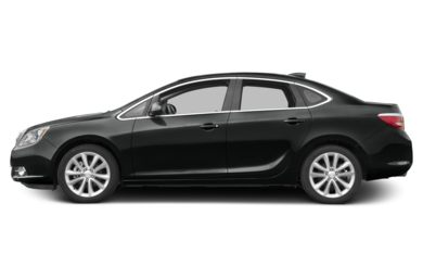 90 Degree Profile 2016 Buick Verano
